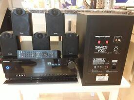 Samsung av receiver and Tannoy speaker system