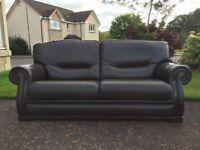 Ferrari Brown Leather Sofas for sale