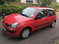 RENAULT CLIO LONG MOT LOW MILES LOTS OF HISTORY MAY SWAP