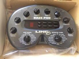 Bass Pod line 6
