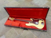 1972 Fender Precision Bass Fretless