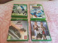 4x Xbox one s games(Forza horizon 3, ufc2 +)