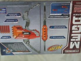 nerf gun mega thunderbow, new in unopened box