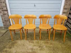 Set of Four Chairs.