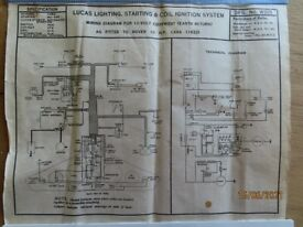 Lucas vehicle Wiring Diagrams (RARE) - 1930s - (30 different vehicles)