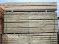 *NEW* TANALISED DECKING BOARDS - 3M