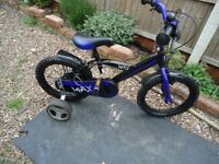 bmx childs with stabilizers
