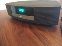 Bose Wave Radio II Model AWR1B4 in excellent condition - Black. FM/AM/Alarm