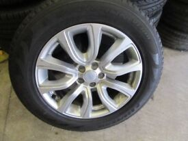-- RANGE ROVER EVOQUE ALLOYS + TYRES --