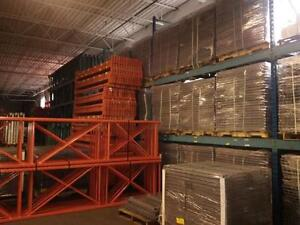 We stock new wire mesh deck for pallet racking at our warehouse