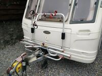 Fiamma XL A pro Bike Carrier - Caravan - A Frame - Tipping