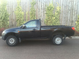 NEW SHAPE 2006 56 - MITSUBISHI L200 2.5 SINGLE CAB PICK UP 4 WORK IN BLACK