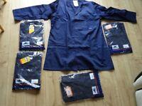 ALL NEW navy Portwest warehouse coat - hygiene coat size 1 x XXL and 2 x XL good quality