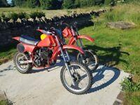 HONDA CR80 1982 (2 bikes 1 runner)