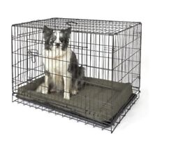 2 dog cages
