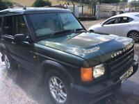 2000 Land Rover Discovery 2 TD5, MOT till oct 7 seater