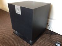 Pioneer S-W160s Home Cinema Active Subwoofer, Fully Working, Deep Bass Reflex High Quality Sound.