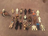 Combination of Star Wars figures some antique