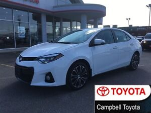 2015 Toyota Corolla S SPORT ALLOYS--MOON ROOF--HEATED CLOTH