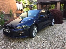 Carefully driven and cared for VW Scirocco R Line, immaculate condition