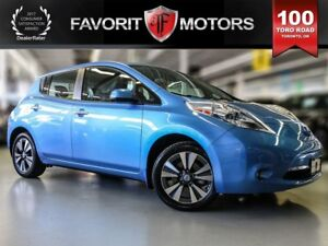 2014 Nissan LEAF SL + TECH, FWD, FULLY ELECTRIC