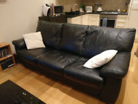3 Seater DFS Pavilion Leather Sofa / Sofabed - 16 months old - £225 o.n.o - Very Comfortable