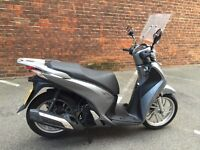Honda SH125, excellent condition, low mileage, top box, garaged, MOT, one owner