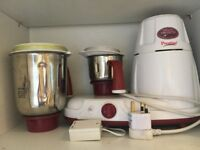 DELUXE INDIAN MIXI PRESTIGE GRINDER IN IMMACULATE CONDITION FANTASTIC QUALITY GREAT PRICE BARGAIN!!!