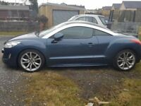Peugeot RCZ 1.6GT. Recent full service including new CAM Chain etc