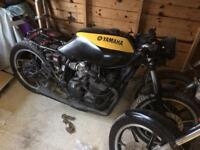 1991 Yamaha XJ600 cafe racer project