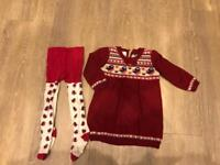 Knitted Monsoon dress 12-18 months