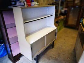 Vintage Shabby Chic Display / Storage Sideboard Cupboard Unit * UpCycle Restoration * Stockbridge *
