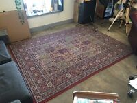 Red Multicoloured Rug £70