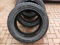 4 x Winter Tyres Falken 245 / 45 R17 with 9mm tread.