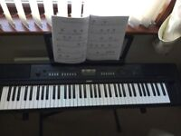 Yamaha NPV80 Keyboard which features the 76 Key Graded SofTouch Keybed