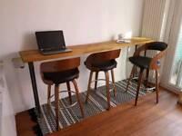 Bar and stools
