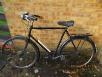 """Gents vintage cycle """"The Humber"""" 23"""" frame"""