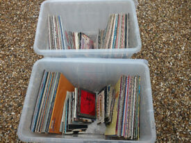 80's and 90's Indie vinyl record collection
