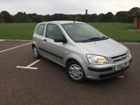 2005 Hyundai Getz only 68000 miles ... new discs n pads