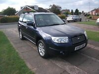 2005 SUBARU FORESTER 2.O XE AUTOMATIC BLUE 12 MONTH M.O.T.