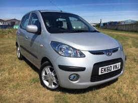 2010 Hyundai i10 1.2 only 62,000 miles 12 months mot full service history