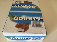 Short Dated Chocolate Bounty Bar Confectionary Sweets Job Lot Business