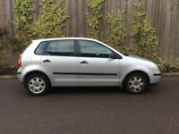 VW POLO + 2005 + 1.4 TWIST + 5DR + 1 OWNER + FULL SERVICE HISTORY