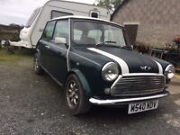 Classic Mini Cooper, Converted SPI, Years MOT