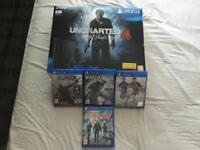 LOOK AS NEW SLIM VERSION PS4 500GB BOXED WITH 5 GAMES