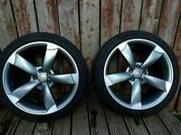 Audi TTRS alloys set of 4.