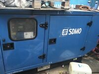 SDMO generator with Mitsubishi Diesel engine