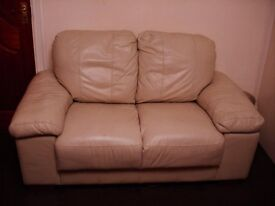 2 seater sofa genuine leather