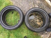 2x Bridgestone Winter Tyres