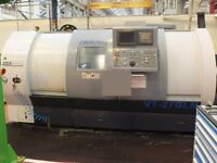 BSA CHURCHILL VIPER VT27-GLM x 1000mm SLANT BED 3 AXIS CNC LATHE WITH C AXIS AND MILLING